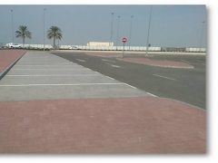 Bus Terminal Relocation & Temporary Car park -( Interlock Pavement works )