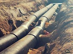 Chilled Water Pipeline Work-Excavation Works